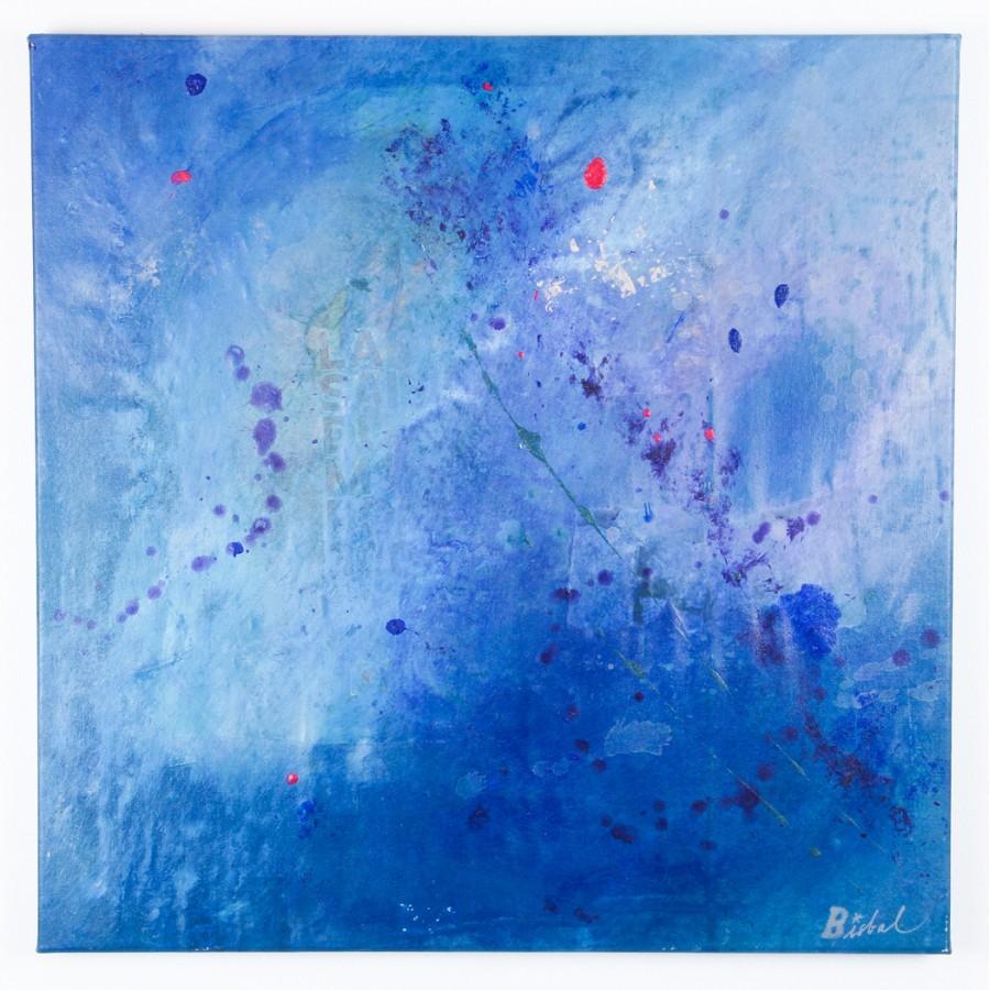 M moire de la mer tableau art contemporain abstrait for Art contemporain abstrait